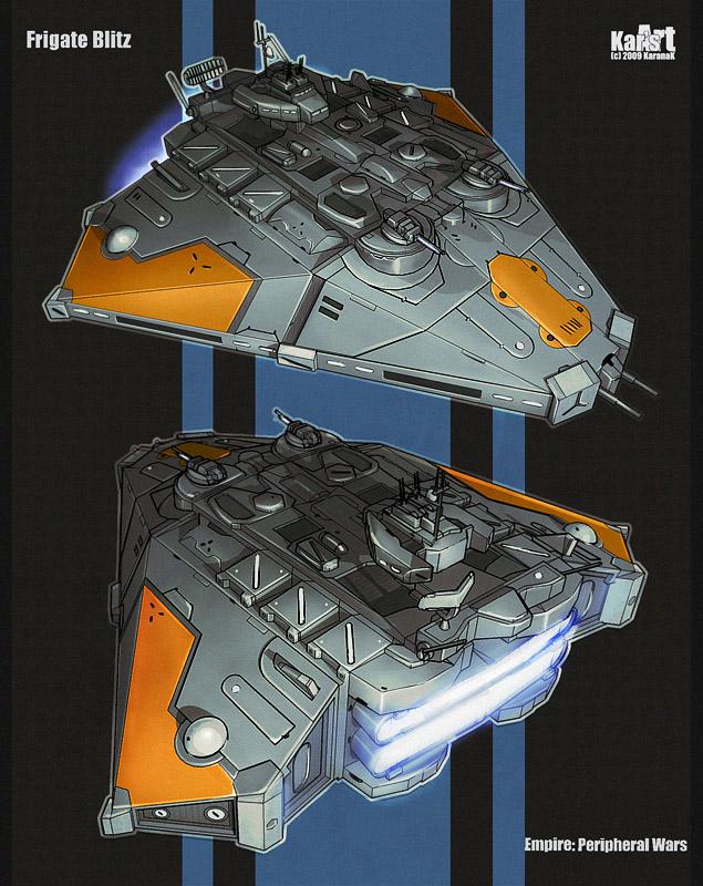 Frigate Blitz by KaranaK