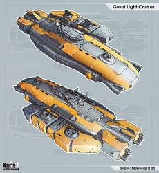 Grunt Light Cruiser by KaranaK