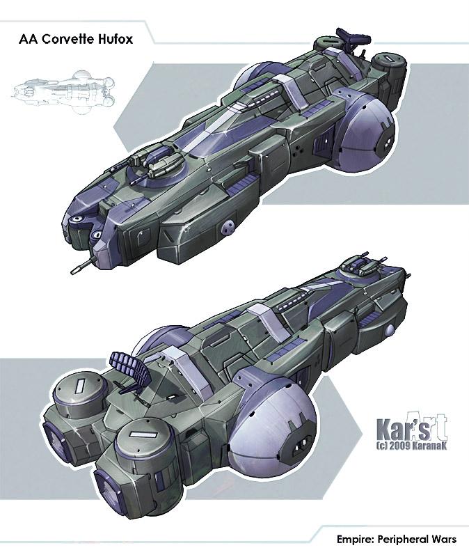 AA Corvette Hufox by KaranaK