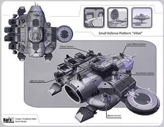 Small Defense Platform Villok by KaranaK