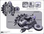 Small Defense Platform Villok