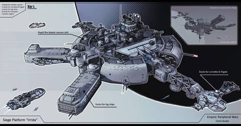 Siege Platform Irrida by KaranaK