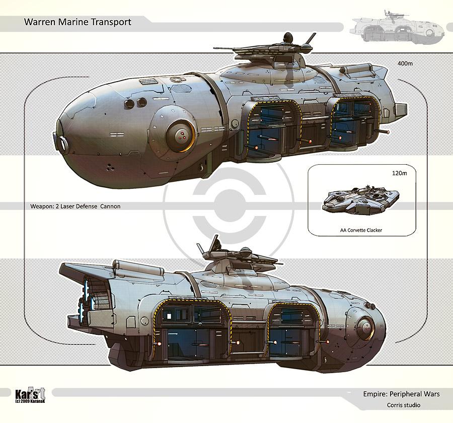 Warren Marine Transport by KaranaK