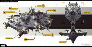 Medium Defense Platform Nest