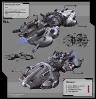 Heavy Cruiser Hurst by KaranaK