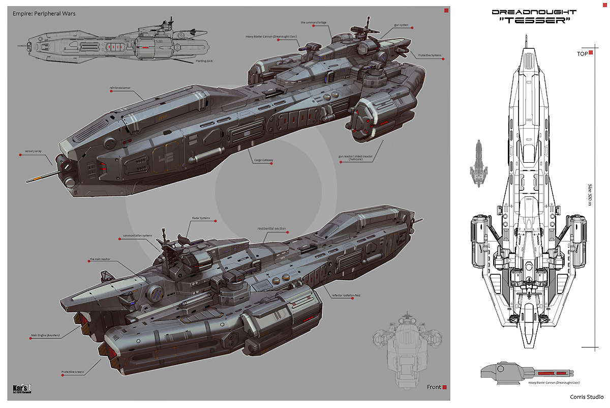 Dreadnought Tesser by KaranaK