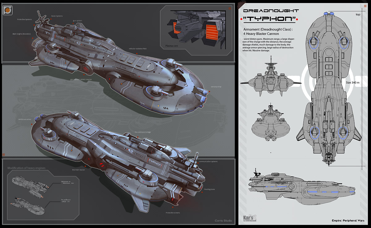 Dreadnought Typhon by KaranaK