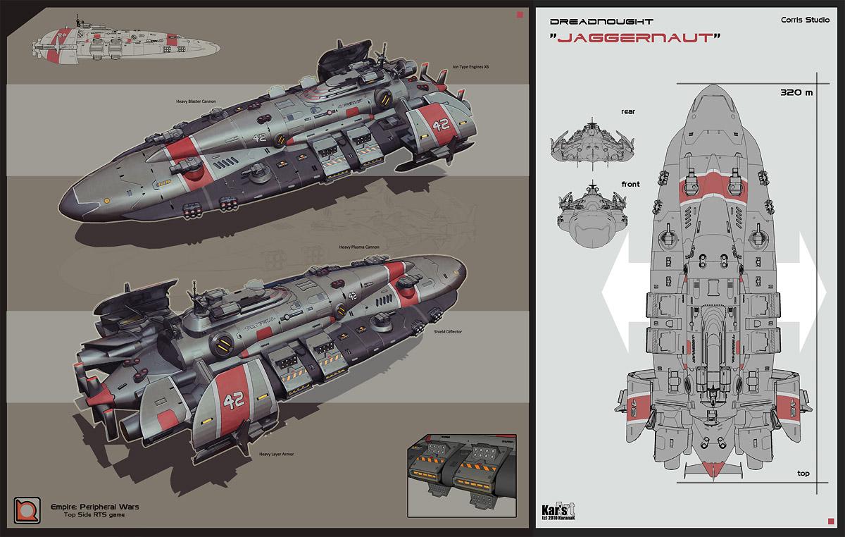 Dreadnought Jaggernaut by KaranaK