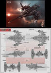 EVE online Space Ship