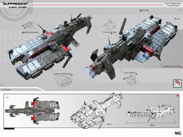 Suppressor Marine Cruiser by KaranaK