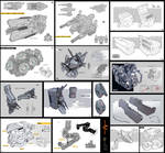 Weapons and parts