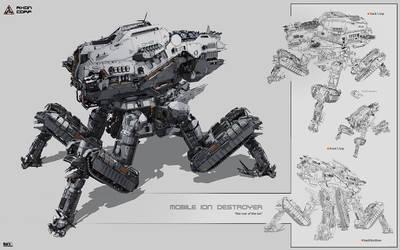 Mobile Ion Destroyer
