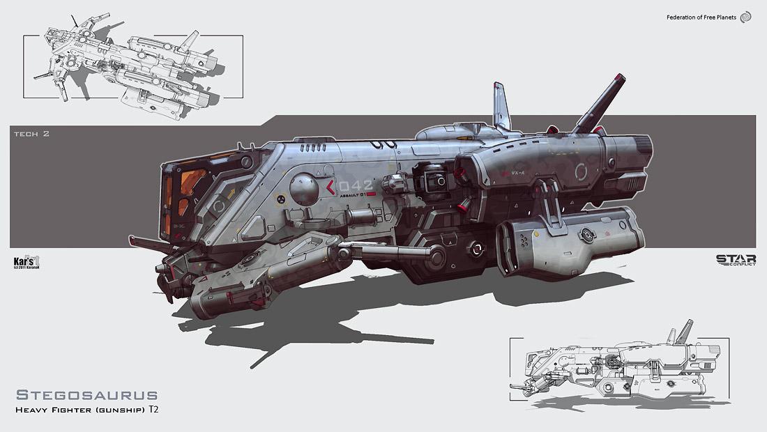 Stegosaurus by KaranaK