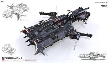 Spinosaurus by KaranaK