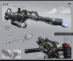 Flamethrower AFT 2L Heat