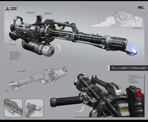 Flamethrower AFT 2L Heat by KaranaK