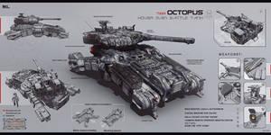 Octopus by KaranaK
