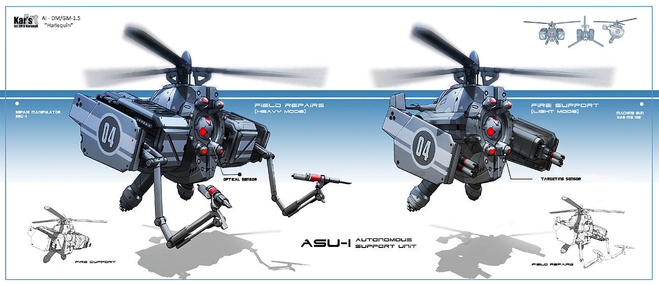 Drone ASU1 2010 by KaranaK