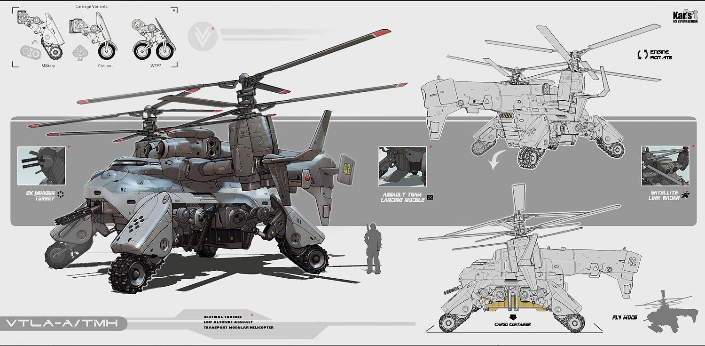 Transport Modular Helicopter 2010 by KaranaK