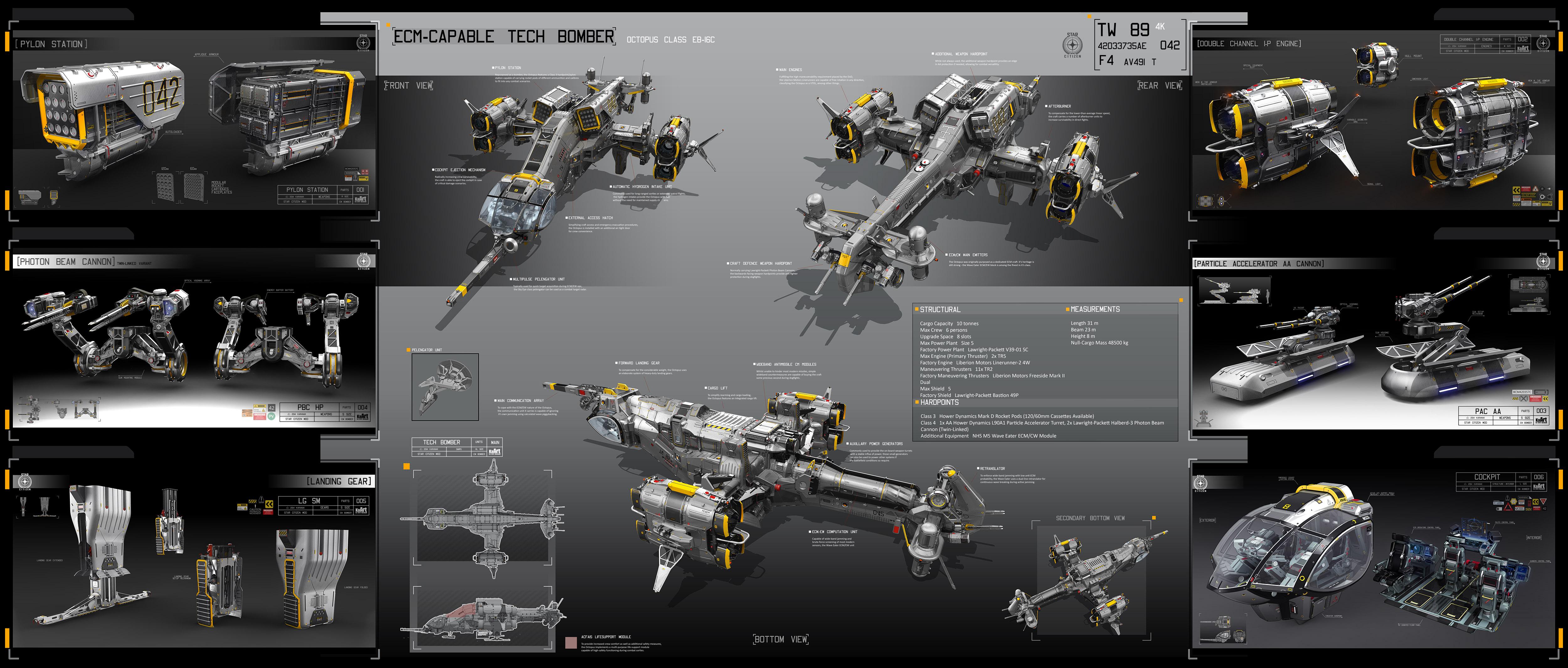 Sketchup Il peut le faire! Tech_bomber_sprut_by_karanak-d73d4a3