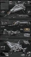 Butcher Class Heavy Gunship