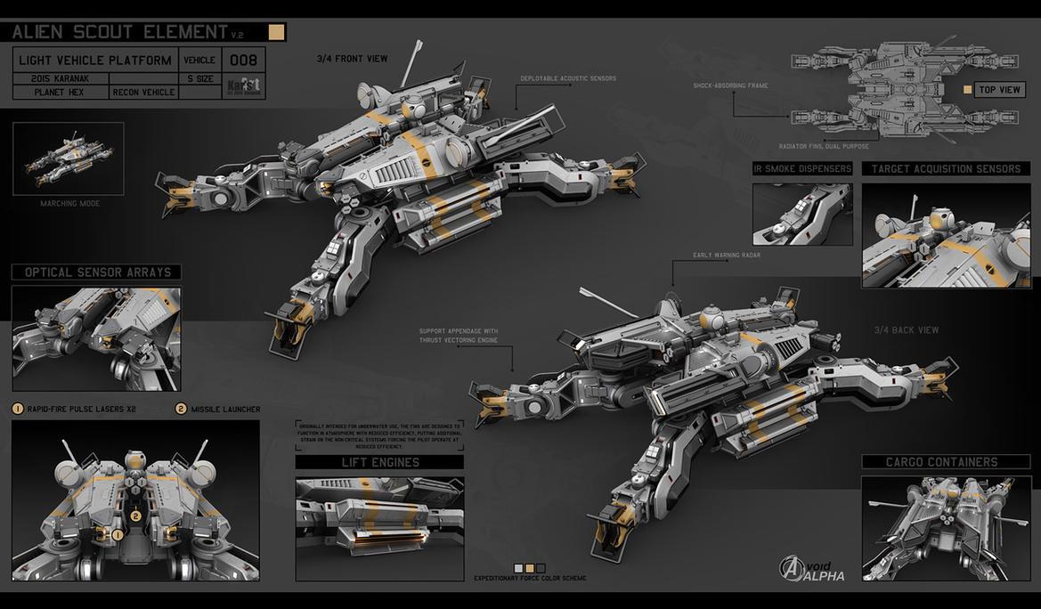 Alien Scout Element by KaranaK
