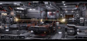 Material Testing Room by KaranaK