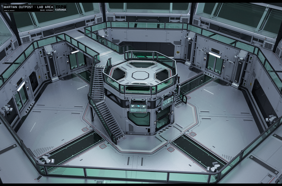 Martian outpost - Lab Area