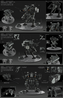 Medium mech tier 2 by KaranaK