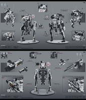 Light mech tier 2 by KaranaK