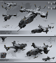 Light VTOL gunship