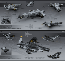 Heavy VTOL Dropship by KaranaK