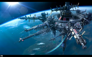 Horizon USSR space station by KaranaK