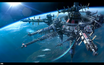Horizon USSR space station