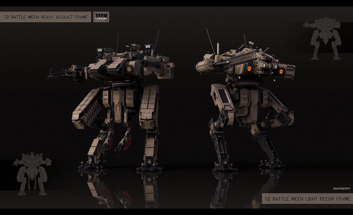 Medium mech modification kits by KaranaK