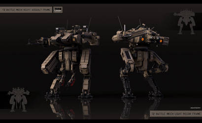 Medium mech modification kits