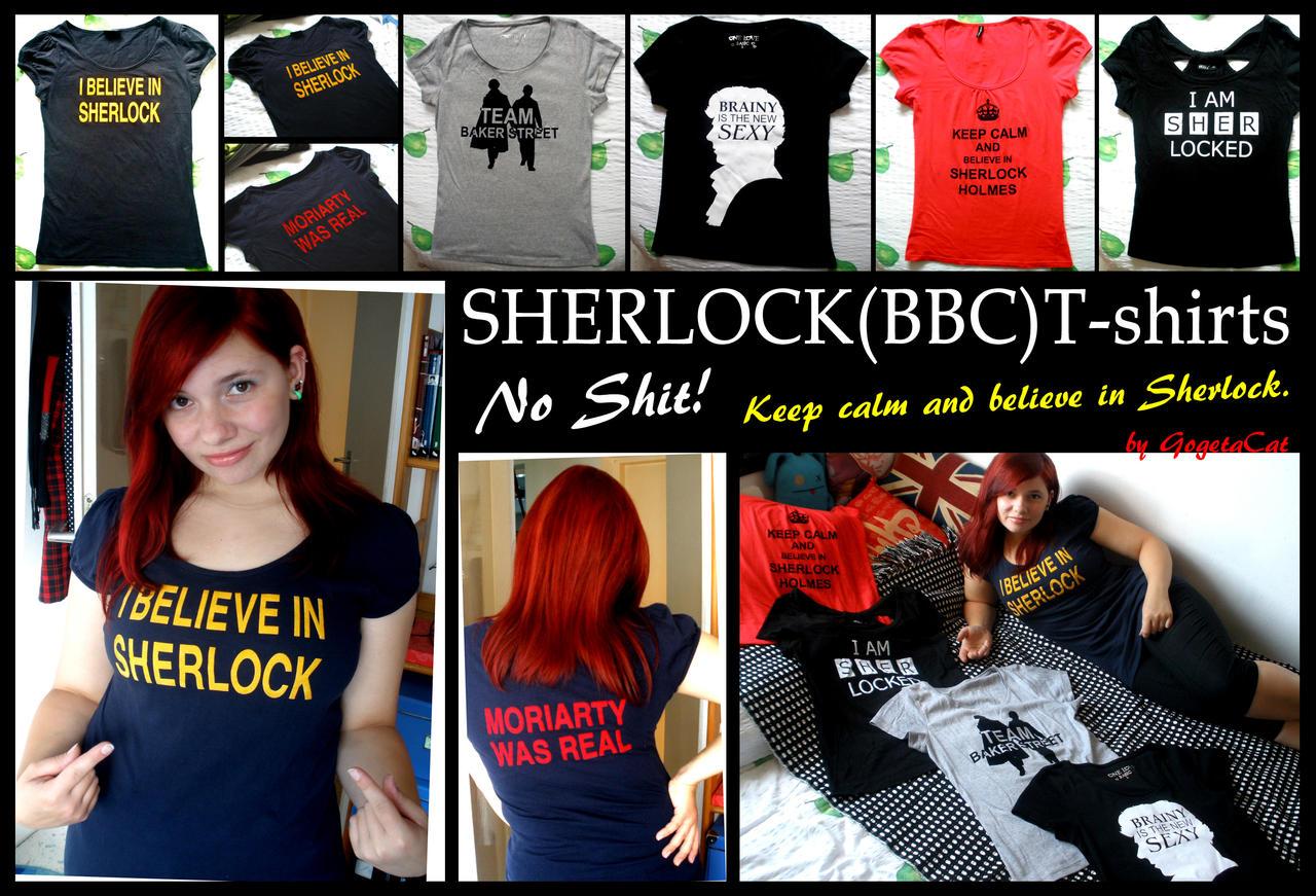 SHERLOCK-BBC_T-Shirts by XxGogetaCatxX