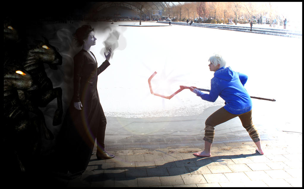 Darkness vs. Cold - Cosplay by XxGogetaCatxX