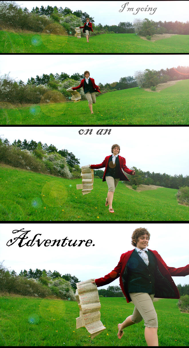 Bilbo-Cosplay - in nature 1 by XxGogetaCatxX
