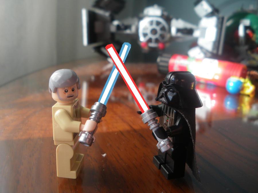 Lego Star Wars: Luke Skywalker and Han Solo by ATPLOL on DeviantArt