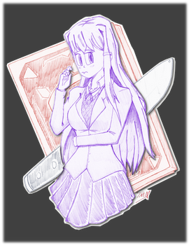 The Literature Club's Maiden of Mystery