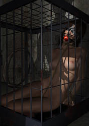 A day in the cage by Strutter79