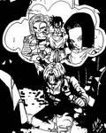 Trunks Nightmare1 vectored by bernardtime