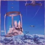 The floating city-La ville flottante by bernardtime