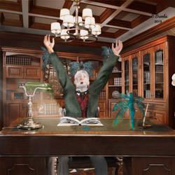 Tomorrowscape: The abduction of DR La'sandyatt by bernardtime