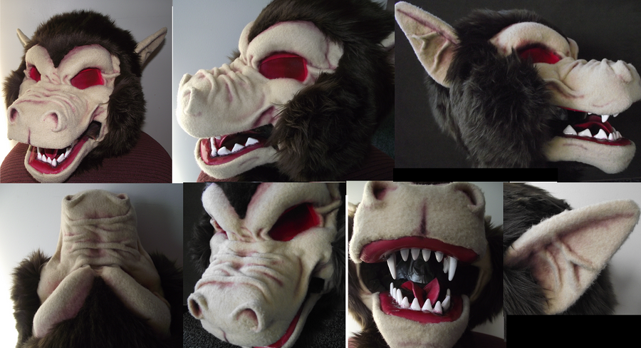 Oozaru Mask commission by Toriroz