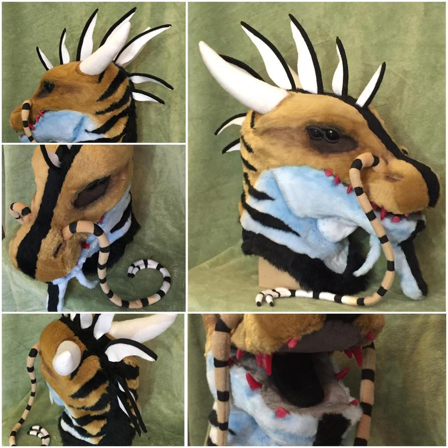 Gusher Dragon Mask by Toriroz