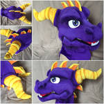 Spyro the Dragon Mask
