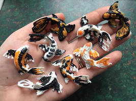 Handful of Mini Koi