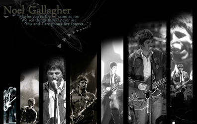 Noel Gallagher Wallpaper 5 by Shilliene